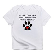 West Highland White Terrier Brother Infant T-Shirt