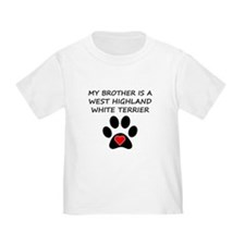 West Highland White Terrier Brother T-Shirt