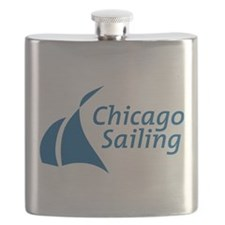 Chicago Sailing Flask