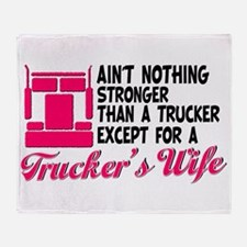 Ain't Nothing Stronger Throw Blanket