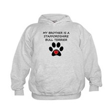 Staffordshire Bull Terrier Brother Hoodie