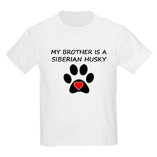 Siberian Husky Brother T-Shirt