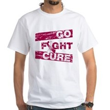 Throat Cancer Go Fight Cure Shirt