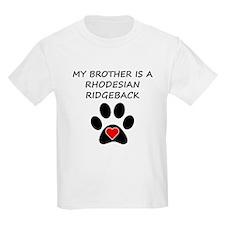 Rhodesian Ridgeback Brother T-Shirt