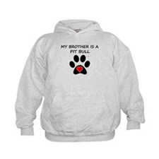 Pit Bull Brother Hoodie