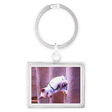 Rat dog Landscape Keychain