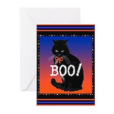 Halloween Beebs Greeting Cards