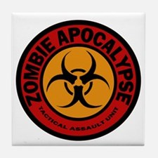 ZOMBIE APOCALYPSE Tactical Assault Un Tile Coaster