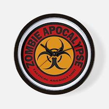 ZOMBIE APOCALYPSE Tactical Assault Unit Wall Clock