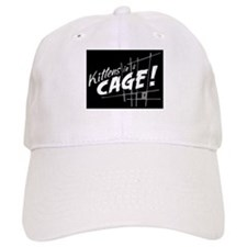 Kittens in a Cage :Official Fan Gear Baseball Baseball Cap