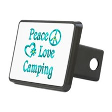 Peace Love Camping Hitch Cover