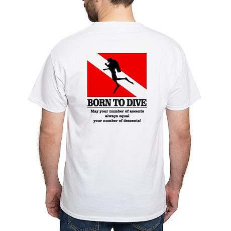 Born To Dive (Descent-Ascent) T-Shirt