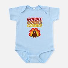 Gobble Gobble Gobble Turkey Body Suit