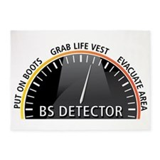 BS Detector 5'x7'Area Rug