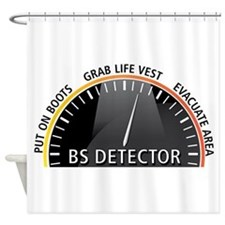 BS Detector Shower Curtain