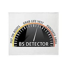 BS Detector Throw Blanket