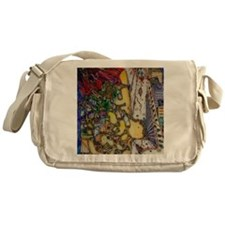 The trumpets of Jericho Messenger Bag