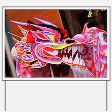 Chinese Dragon Yard Sign