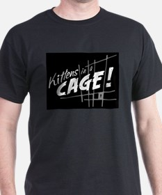 Kittens in a Cage Official Fan Gear T-Shirt