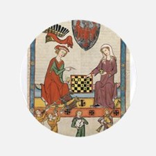"""Chess Players 3.5"""" Button"""