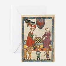 Chess Players Greeting Cards