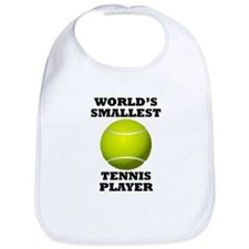 Worlds Smallest Tennis Player Bib
