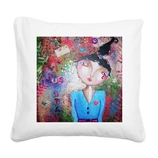 stay close Square Canvas Pillow