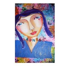 sadness Postcards (Package of 8)