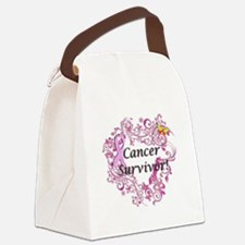 Real Men Wear Pink Canvas Lunch Bag