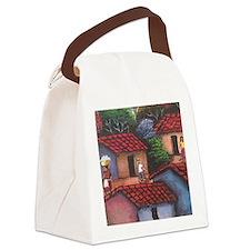 El Salvador town Canvas Lunch Bag