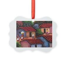 El Salvador town Ornament