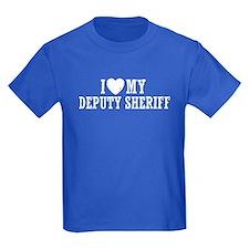 I Love My Deputy Sheriff T