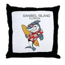Sanibel Island, Florida Throw Pillow