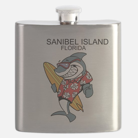 Sanibel Island, Florida Flask