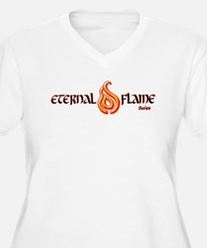 Eternal Flame Series (Logo) Plus Size T-Shirt