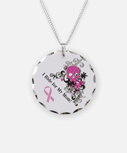 Bikers for Breast Cancer Necklace
