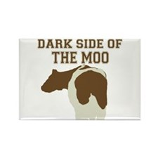 Dark Side Of The Moo Rectangle Magnet