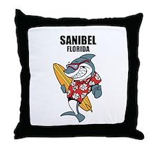 Sanibel, Florida Throw Pillow