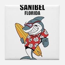 Sanibel, Florida Tile Coaster