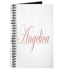 Cursive Angelica Journal
