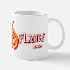 Eternal Flame Series Logo (Black Backgr Mug