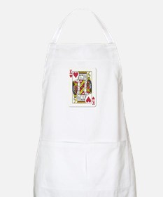 King of Hearts BBQ Apron