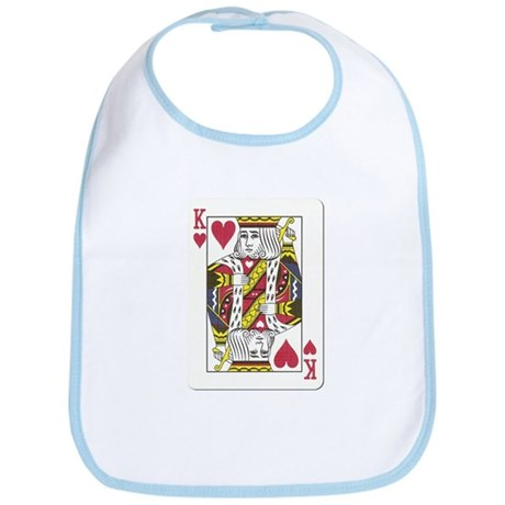 King of Hearts Bib