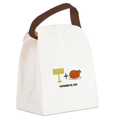 Hanukkah Canvas Lunch Bag