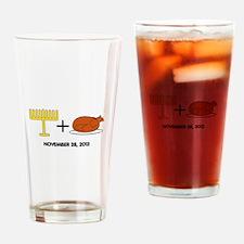 Hanukkah Drinking Glass