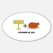 Hanukkah Sticker (Oval)