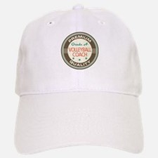 Volleyball Coach Vintage Baseball Baseball Cap