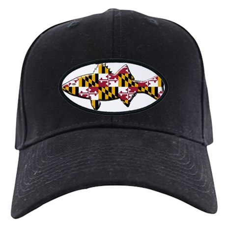 Maryland state fish rockfish baseball hat by listing for Maryland state fish