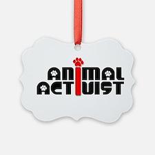 Animal Activist Ornament