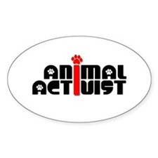 Animal Activist Decal